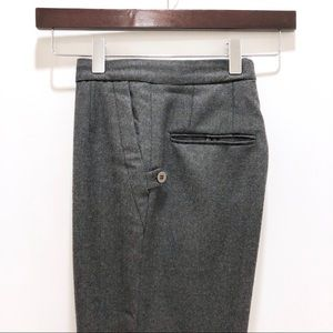 Chloé Authentic Vintage Gray Wool Trousers